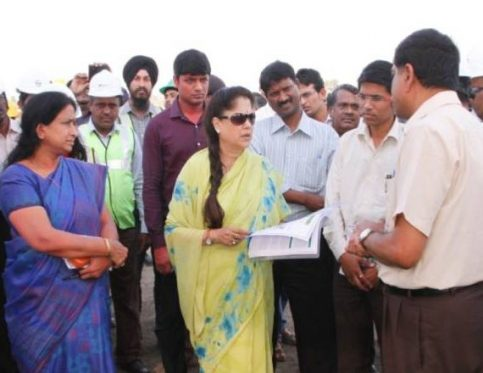 State Industry Minister Visit